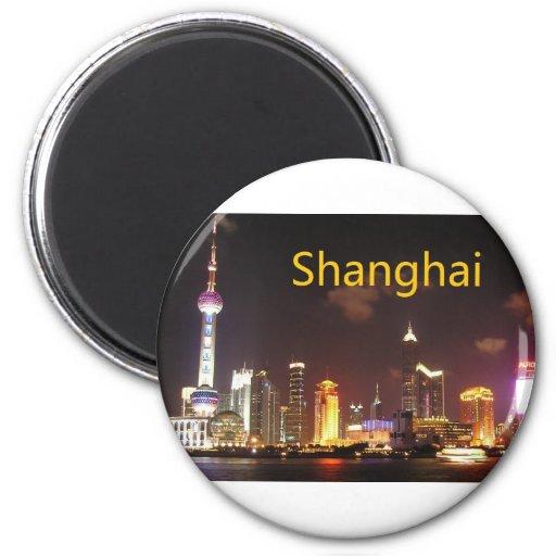 China Shanghai (St.K) 2 Inch Round Magnet