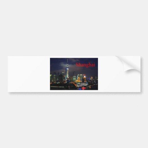 china shanghai (St.K) Car Bumper Sticker