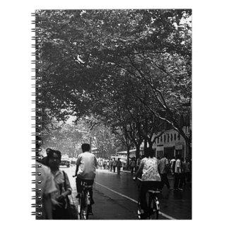 China Shanghai street 1970 Notebook