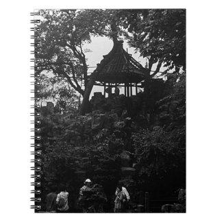 China Shanghai Yuyuan garden 1970 Notebook