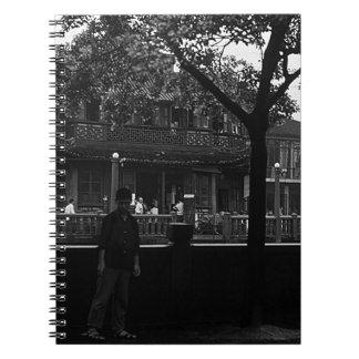 China Shanghai Yuyuan garden Dianchun hall 1970 Notebook