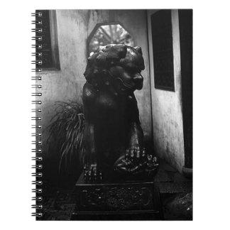 China Shanghai Yuyuan garden statue 1970 Notebook