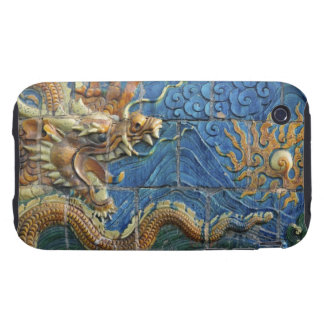 China, Shanxi, Datong, wall of nine dragons iPhone 3 Tough Cover