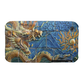 China, Shanxi, Datong, wall of nine dragons iPhone 3 Case-Mate Cases