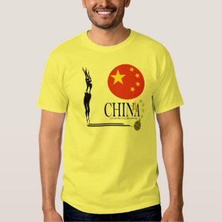 China sincronizó la camiseta del triunfo de la remera