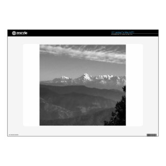 """China Snow Views from hills of Almora India Skin For 15"""" Laptop"""