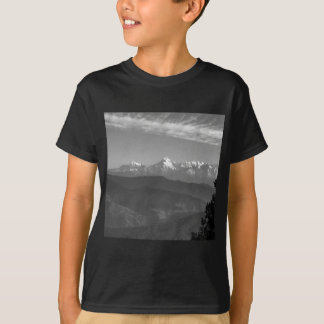 China Snow Views from hills of Almora India T-Shirt