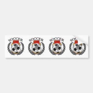 China Soccer 2016 Fan Gear Bumper Sticker