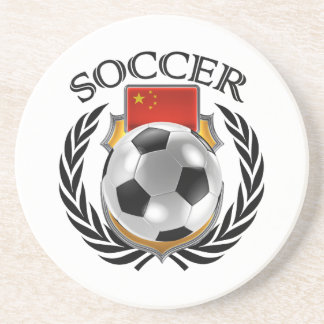 China Soccer 2016 Fan Gear Coaster