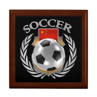 China Soccer 2016 Fan Gear Jewelry Box