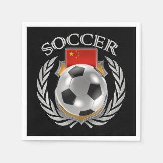 China Soccer 2016 Fan Gear Paper Napkin