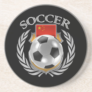 China Soccer 2016 Fan Gear Sandstone Coaster