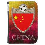 China Soccer Kindle Keyboard Covers