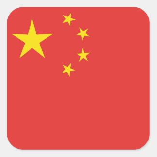CHINA SQUARE STICKER
