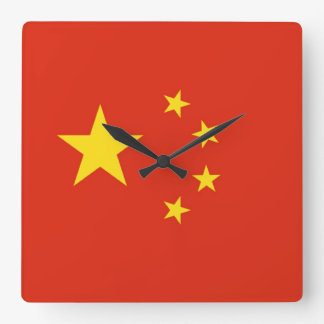 CHINA SQUARE WALL CLOCK
