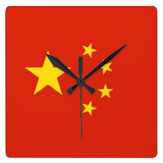 CHINA SQUARE WALLCLOCKS