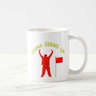 China Stand Up Coffee Mug