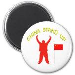 China Stand Up Fridge Magnet