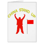 China Stand Up Greeting Cards