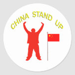 China Stand Up Stickers