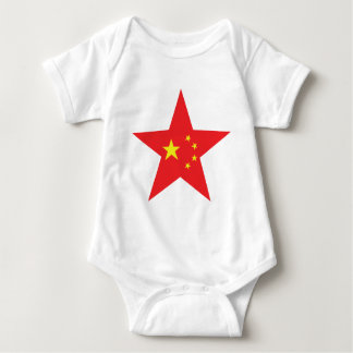 china star icon baby bodysuit