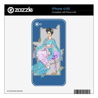 China subió y las perlas calcomanías para el iPhone 4