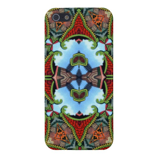 China Symbol of Tokens Kaleidoscope Cover For iPhone SE/5/5s