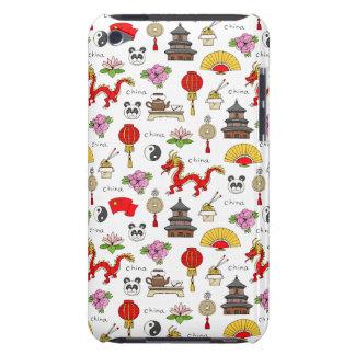 China Symbols Pattern Case-Mate iPod Touch Case