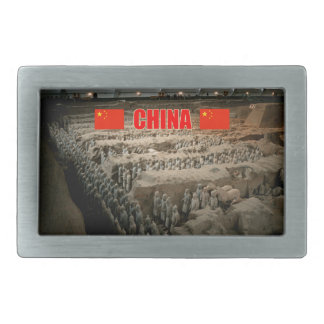 CHINA Terracotta Army Belt Buckle