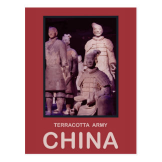 China Terracotta Army Postcard