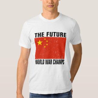 China - The Future World War Champs T-Shirt