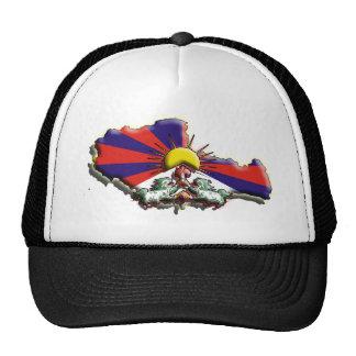 China: Tíbet (3d) Gorras