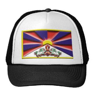 China: Tíbet (bandera del artista) Gorras