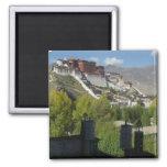 China, Tíbet, Lasa, el palacio Potala 2 Imán De Frigorífico