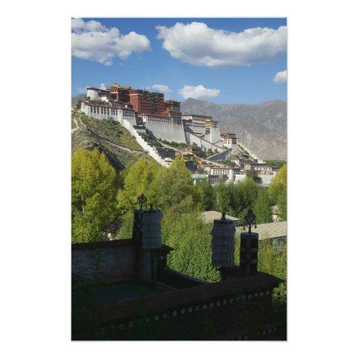 China, Tíbet, Lasa, el palacio Potala 2 Fotografía