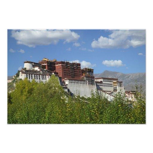 China, Tíbet, Lasa, el palacio Potala 3 Fotografías