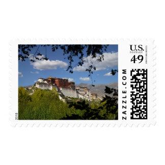 China, Tíbet, Lasa, el palacio Potala Estampilla
