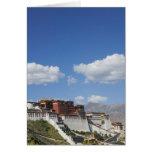 China, Tíbet, Lasa, el palacio Potala Felicitación