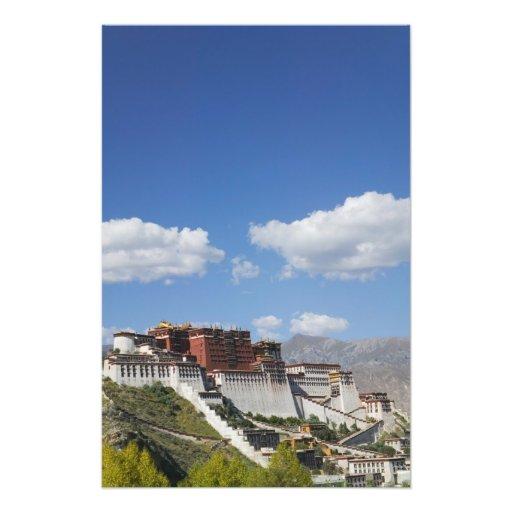 China, Tíbet, Lasa, el palacio Potala Impresiones Fotograficas
