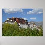 China, Tíbet, Lasa, el palacio Potala Poster