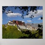 China, Tíbet, Lasa, el palacio Potala Posters