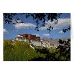 China, Tíbet, Lasa, el palacio Potala Tarjetón