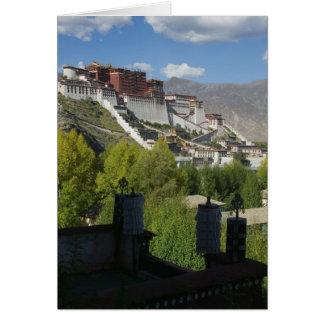 China, Tibet, Lhasa, Potala Palace 2 Card