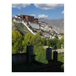 China, Tibet, Lhasa, Potala Palace 2 Postcard