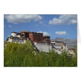 China, Tibet, Lhasa, Potala Palace 3 Card