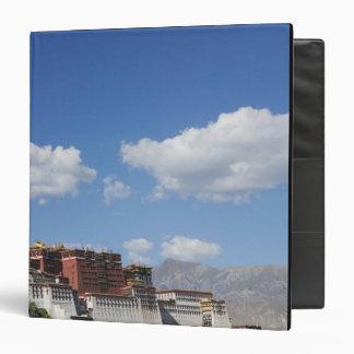 China, Tibet, Lhasa, Potala Palace 3 Ring Binder