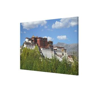 China, Tibet, Lhasa, Potala Palace Canvas Print