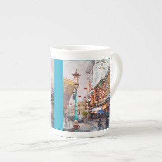 China Town bone china Tea Cup