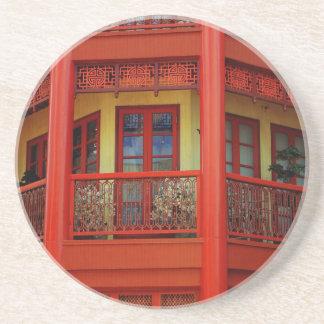China Town Sandstone Coaster