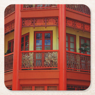 China Town Square Paper Coaster